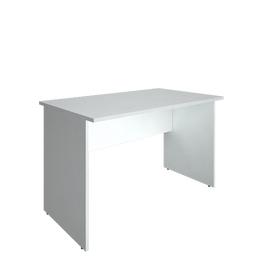 Стол прямой письменный RIVA А.СП-2 Белый 1200х720х750, Цвет товара: Белый