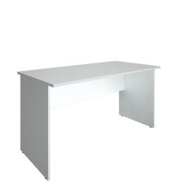 Стол прямой письменный RIVA А.СП-3 Белый 1400х720х750, Цвет товара: Белый