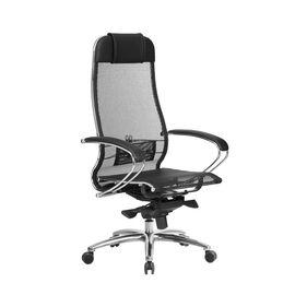 Компьютерное кресло для руководителя Samurai S-1.04 Черный