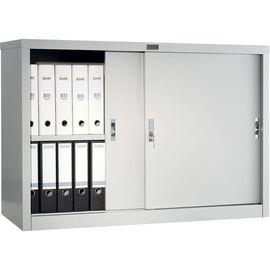 Архивный шкаф для офиса ПРАКТИК АМТ 0812, Цвет товара: Серый