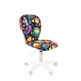 Компьютерное кресло для детской комнаты Chairman KIDS 105 белый пластик (Космос), Цвет товара: Космос