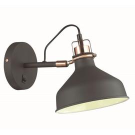 Бра Черный Lurdi Odeon Light с выключателем, Цвет товара: Черный