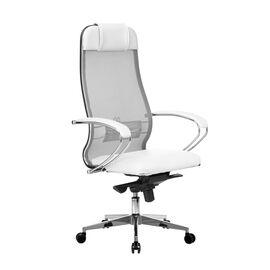 Компьютерное кресло для руководителя Samurai Comfort-1.01 Белый лебедь, Цвет товара: Белый