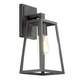 Уличный настенный светильник Clod Черный Odeon Ligh, Цвет товара: Черный