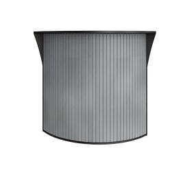 Стойка угловая (радиусный элемент - ролета) RIVA А.РС-5.5 Венге цаво 950х950х1150, Цвет товара: Венге Цаво