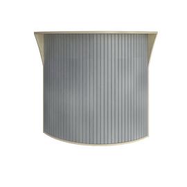Стойка угловая (радиусный элемент - ролета) RIVA А.РС-5.5 Клен 950х950х1150, Цвет товара: Клен
