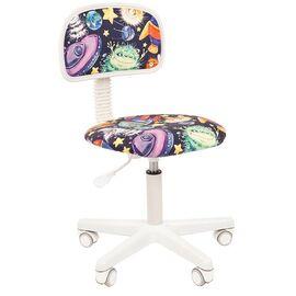 Компьютерное кресло для детской комнаты Chairman Kids 101 (НЛО), Цвет товара: Космос