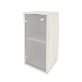 Шкаф низкий узкий для документов левый STYLE Л.СУ-3.2Л Дуб Наварра 412х410х828, Цвет товара: Дуб наварра