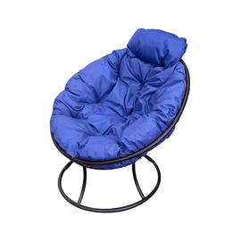 """Кресло """"Папасан"""" мини Синяя M-Group, Цвет товара: Чёрный / Синий"""