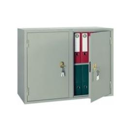 Металлический бухгалтерский шкаф КБ -09/ КБС - 09, Цвет товара: Серый