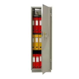 Металлический бухгалтерский шкаф КБ - 21Т / КБС - 21Т, Цвет товара: Серый