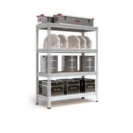 Стеллажи с нагрузкой до 2200 кг, Цвет товара: Серый