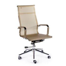 Кресло офисное / Хельмут / (bronze) сталь + хром / бронзовая сетка, Цвет товара: Бронза