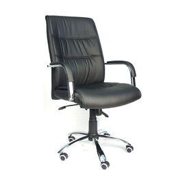 Кресло для руководителя в офис Everprof Bond TM экокожа черный