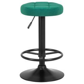 Барный стул LM-5008 зеленый велюр/Черный DOBRIN, Цвет товара: Зеленый