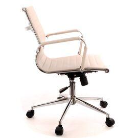 Компьютерное кресло Everprof Leo T экокожа бежевый, Цвет товара: Бежевый, изображение 3