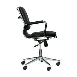 Компьютерное кресло Everprof Nerey LB T Черная экокожа, Цвет товара: Черный, изображение 3
