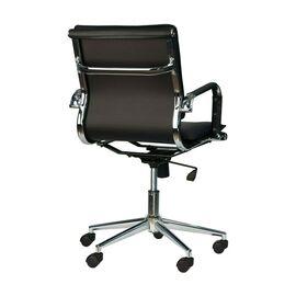 Компьютерное кресло Everprof Nerey LB T Черная экокожа, Цвет товара: Черный, изображение 4