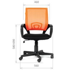 Компьютерное кресло Chairman CH 696 TW-01 черный, Цвет товара: Черный, изображение 2
