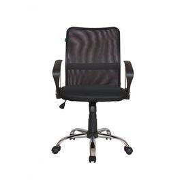 Компьютерное кресло Riva Chair 8075 Чёрная ткань/Чёрная сетка (DW-01), Цвет товара: Черный, изображение 3