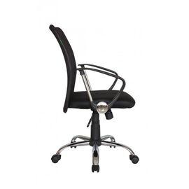 Компьютерное кресло Riva Chair 8075 Чёрная ткань/Чёрная сетка (DW-01), Цвет товара: Черный, изображение 5