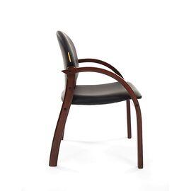 Офисное кресло для посетителей Chairman CH 659 Теrrа черный матовый/тем.орех, изображение 5
