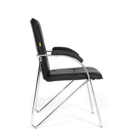 Офисное кресло для посетителей Chairman 850 Черный, Цвет товара: Черный, изображение 4