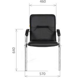 Офисное кресло для посетителей Chairman 850 Черный, Цвет товара: Черный, изображение 5