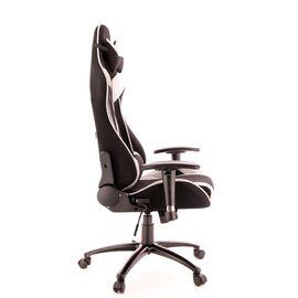 Кресло геймерское Everprof Lotus S4 ткань серая, Цвет товара: черно-серое, изображение 3
