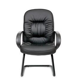 Офисное кресло для посетителей Chairman CH 416 V, Цвет товара: Черный, изображение 2