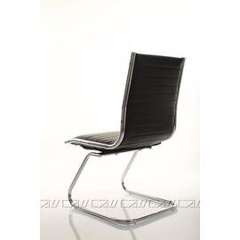 Офисное кресло для посетителей Team Vi (C2W), Цвет товара: Черный, изображение 3