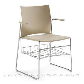Офисное кресло для посетителей Web Vi (C2W), Цвет товара: Черный, изображение 3