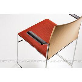 Офисное кресло для посетителей Web Vi (C2W), Цвет товара: Черный, изображение 4
