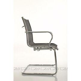Офисное кресло для посетителей Line-M Vi (C2W), Цвет товара: Черный, изображение 2