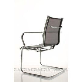 Офисное кресло для посетителей Line-M Vi (C2W), Цвет товара: Черный, изображение 3