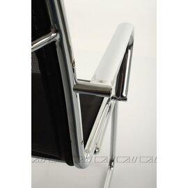 Офисное кресло для посетителей Line-M Vi (C2W), Цвет товара: Черный, изображение 7
