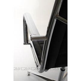 Офисное кресло для посетителей Line Vi base (C2W), Цвет товара: Черный, изображение 8