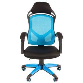 Кресло для геймеров Chairman Game 12 Голубое, Цвет товара: Голубой, изображение 2