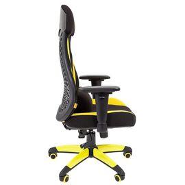 Кресло для геймеров Chairman Game 14 Желтый, Цвет товара: Желтый, изображение 3