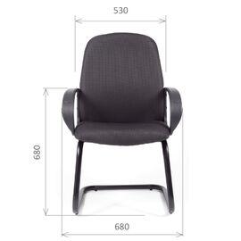 Офисное кресло для посетителей Chairman CH 279 V Черный, Цвет товара: Черный, изображение 2