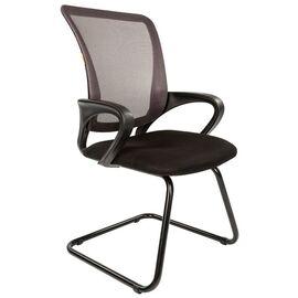 Офисное кресло для посетителей Chairman CH 969 V Ткань/сетка TW (черный) 580x560x990, Цвет товара: Черный, изображение 5