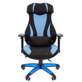 Кресло для геймеров Chairman Game 14 Голубой, Цвет товара: Голубой, изображение 2