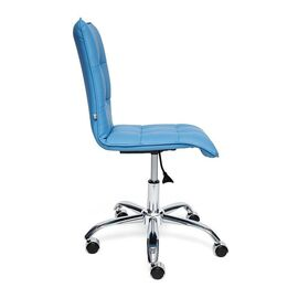 Компьютерное кресло «Zero» голубой (36-36) TetChair, Цвет товара: Голубой, изображение 2