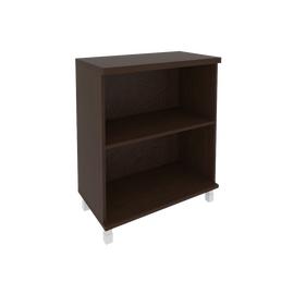 Шкаф для документов низкий широкий (2 низкие двери ЛДСП) FIRST KST-3.1 800*430*960 Венге, Цвет товара: Венге Цаво, изображение 2