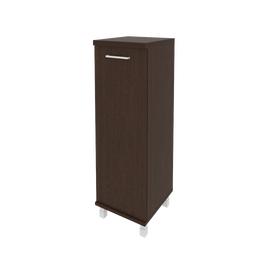 Шкаф для документов средний узкий левый/правый (1 средняя дверь ЛДСП)FIRST KSU-2.3 400*430*1260 Венге, Цвет товара: Венге Цаво, изображение 2