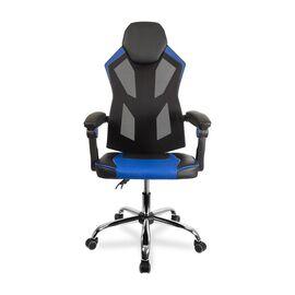 Кресло для геймеров College CLG-802 LXH Blue, Цвет товара: Синий, изображение 2