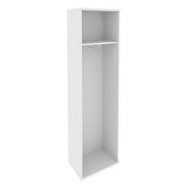Гардероб для верхней одежды узкий (выдвижная вешалка,) RIVA А.ГБ-1 Белый 550х365х1980, Цвет товара: Белый, изображение 2
