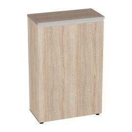 Шкаф для документов широкий средний закрытый Vita  V-2.1.1 777х387х1205, Цвет товара: Тёмная сосна Ларедо, изображение 2