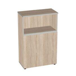 Шкаф для документов широкий средний с низкими дверьми Vita V-2.1.2 777х387х1205, Цвет товара: Тёмная сосна Ларедо, изображение 2