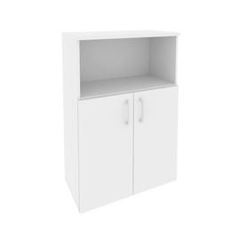 Шкаф для документов средний широкий Onix O.ST-2.1 Дуб Аризона 800x420x1207, Цвет товара: Дуб Аризона, изображение 4